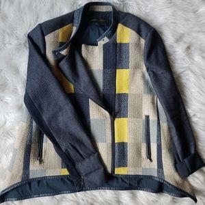 NWOT BCBGMAXAZRIA denim jacket